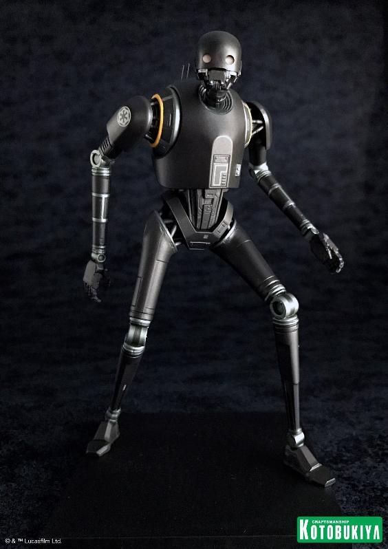 Kotobukiya SW - Rogue One: 1/10 Scale ArtFX+ Statue - K-2SO K-2s0_18