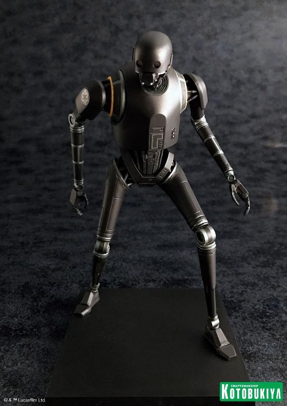 Kotobukiya SW - Rogue One: 1/10 Scale ArtFX+ Statue - K-2SO K-2s0_19