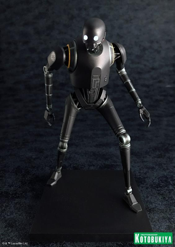 Kotobukiya SW - Rogue One: 1/10 Scale ArtFX+ Statue - K-2SO K-2s0_20