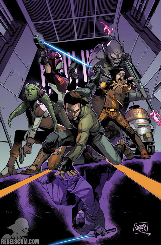 Marvel Comics US : STAR WARS – KANAN: THE LAST PADAWAN K06j10