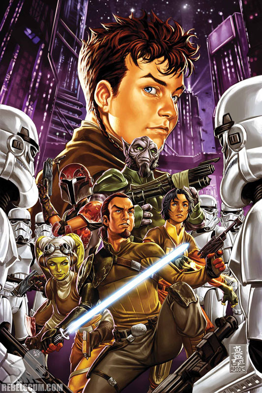 Marvel Comics US : STAR WARS – KANAN: THE LAST PADAWAN K1210
