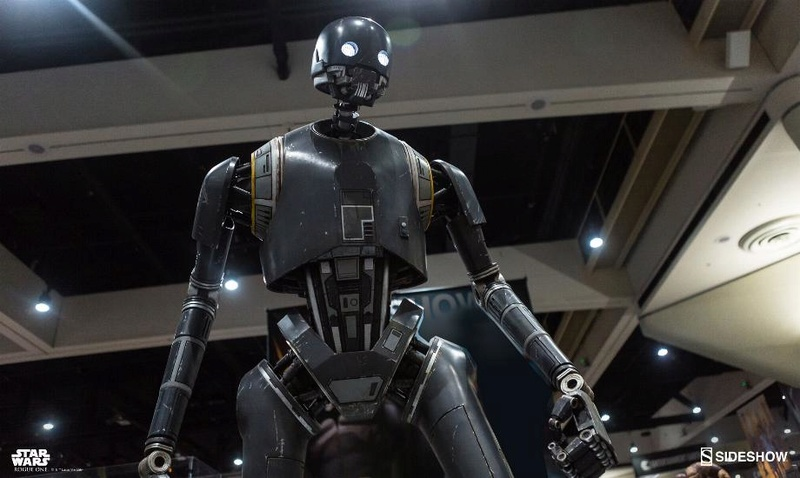 Sideshow Collectibles Star Wars  K-2SO Life-Size Figure K20110
