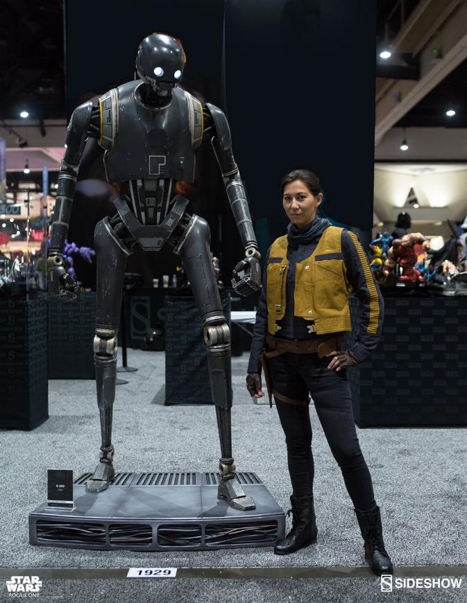 Sideshow Collectibles Star Wars  K-2SO Life-Size Figure K20210