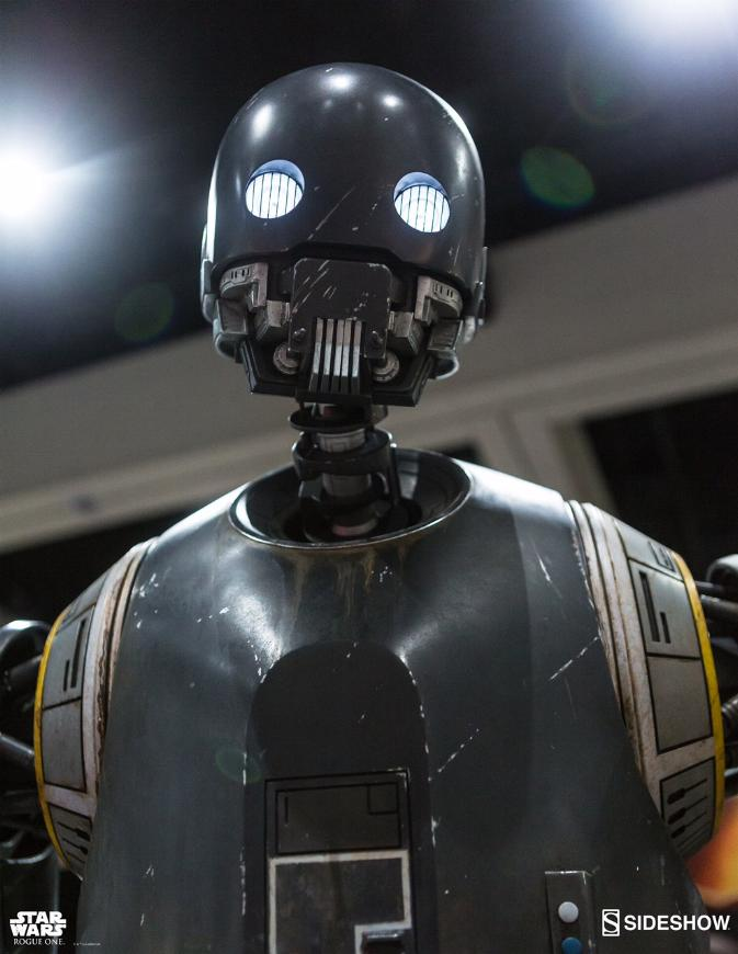 Sideshow Collectibles Star Wars  K-2SO Life-Size Figure K20310
