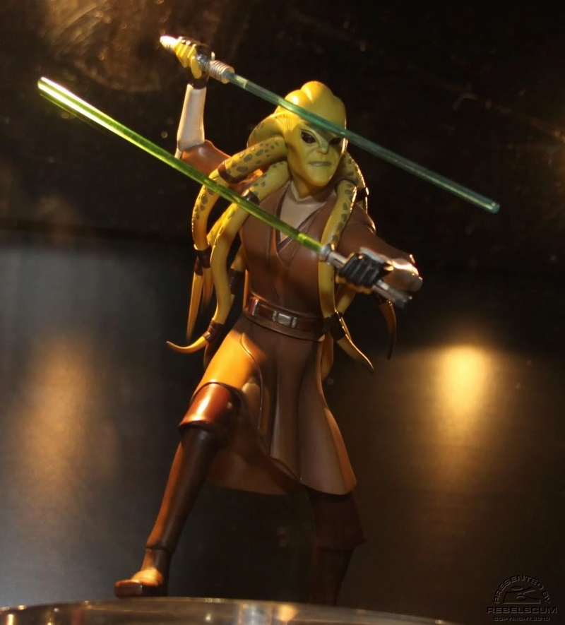 Gentle Giant - CW Kit Fisto Animated Maquette Kitfis10
