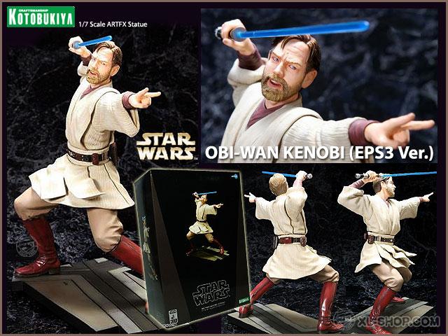 Kotobukiya - Obi Wan Kenobi EPIII ARTFX Statue Koto_o11