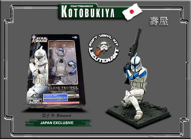 Clone Trooper Bleu LIMITED EDITION 2003 ARTFX Statue Kotobu10