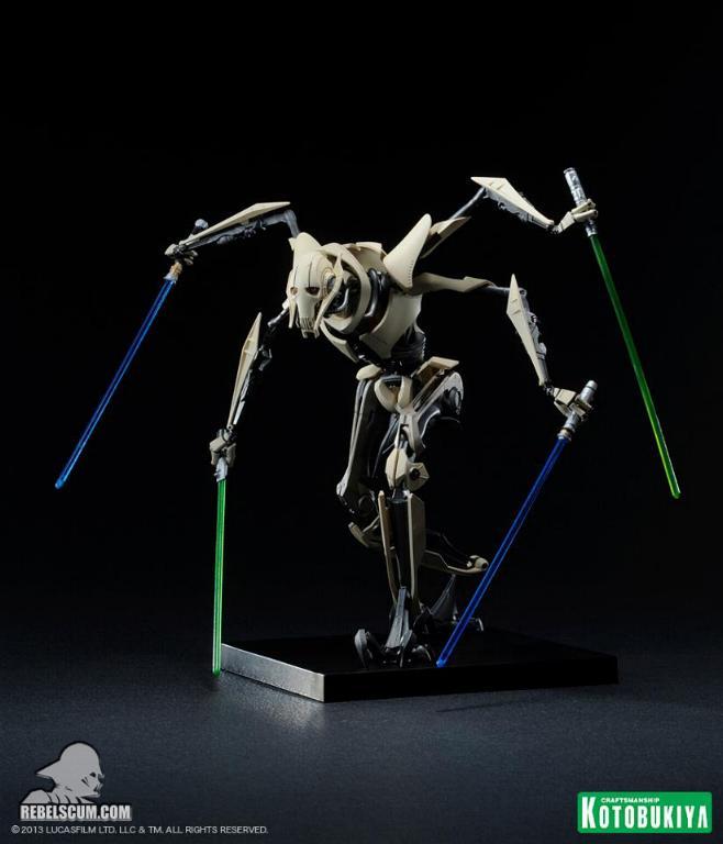 Kotobukiya Général Grievous ArtFX  Kotobu12