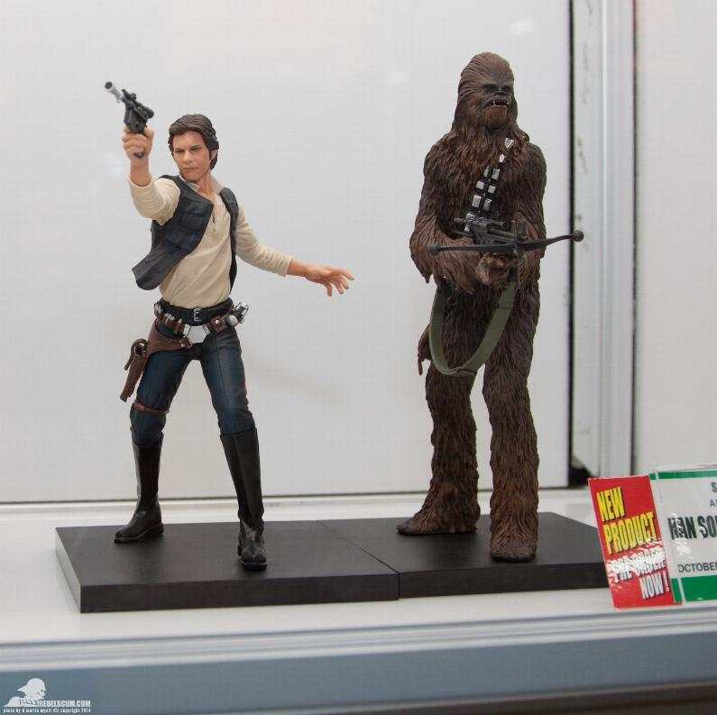 Kotobukiya - Han Solo & Chewbacca - ARTFX+ Statues 2 packs Kotoha10