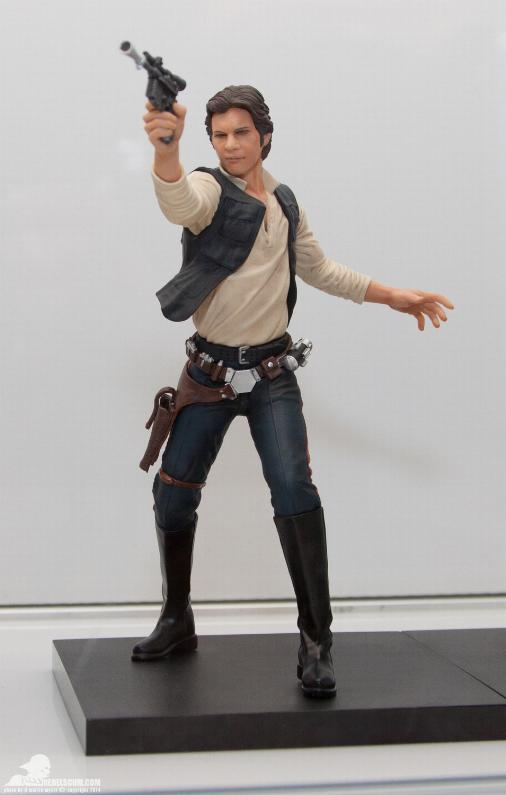 Kotobukiya - Han Solo & Chewbacca - ARTFX+ Statues 2 packs Kotoha11