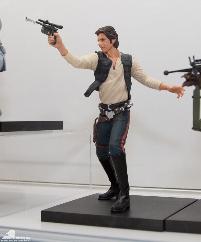 Kotobukiya - Han Solo & Chewbacca - ARTFX+ Statues 2 packs Kotoha12
