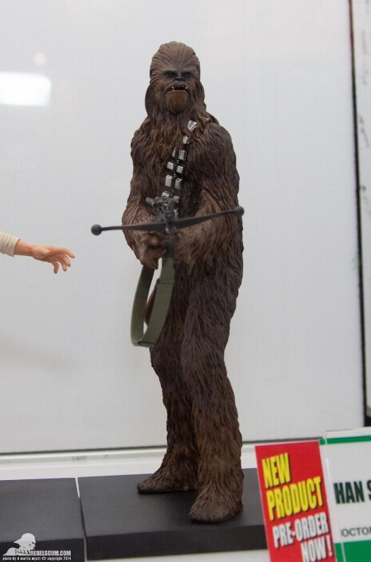 Kotobukiya - Han Solo & Chewbacca - ARTFX+ Statues 2 packs Kotoha13
