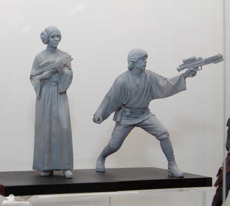 Kotobukiya - Luke & Leia A New Hope - ARTFX+ Statues 2 packs Kotole10