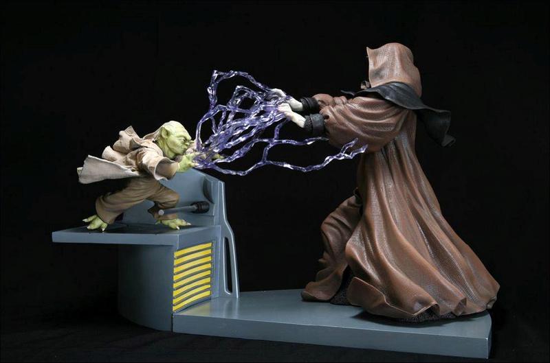 Kotobukiya - Sidious VS Yoda Kto00010