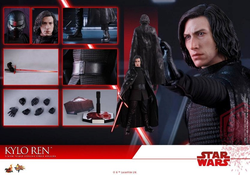 Hot Toys - The Last Jedi - 1/6th scale Kylo Ren Collectible Kylo_t64