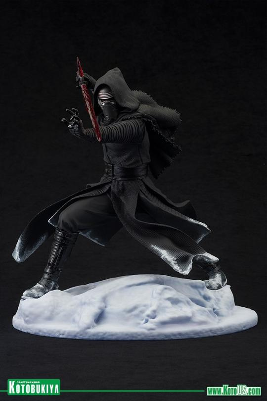 Kotobukiya Star Wars - Kylo Ren Vader helmet ArtFX Statue   Kylore10