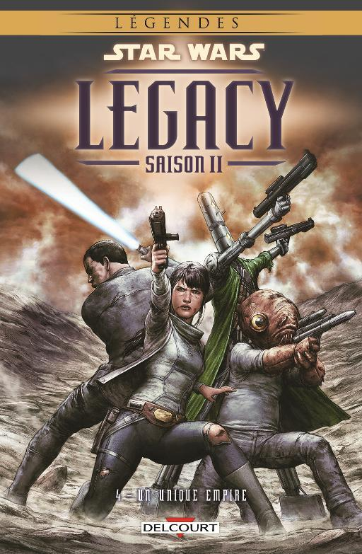 COLLECTION STAR WARS LEGACY SAISON II  L0411