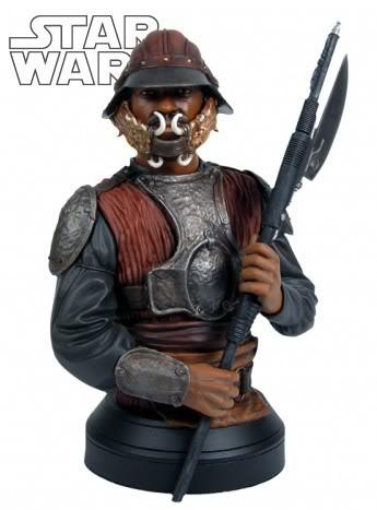 Lando Calrissian in Skiff Guard Disguise Mini bust Landoc10