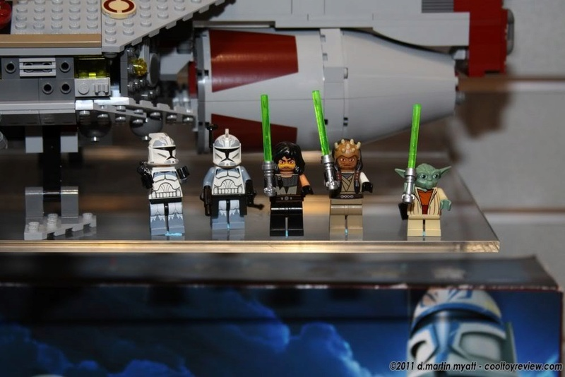 LEGO STAR WARS - 7964 - Frégate de la république Lego-f11