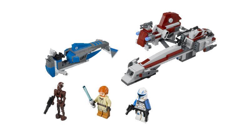 LEGO STAR WARS - 75012 - BARC Speeder with Sidecar Lego2010