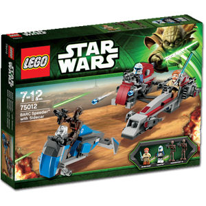 LEGO STAR WARS - 75000 - Clone Troopers vs Droidekas Lego2012
