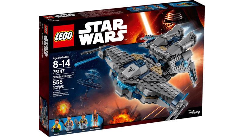 LEGO STAR WARS - 75147 - StarScavenger Lego_710