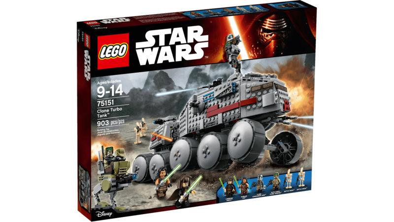 LEGO STAR WARS - 75151 - Clone Turbo Tank Lego_711