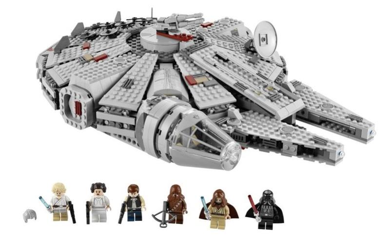 LEGO STAR WARS - 7965 - Millennium Falcon  Legofl10
