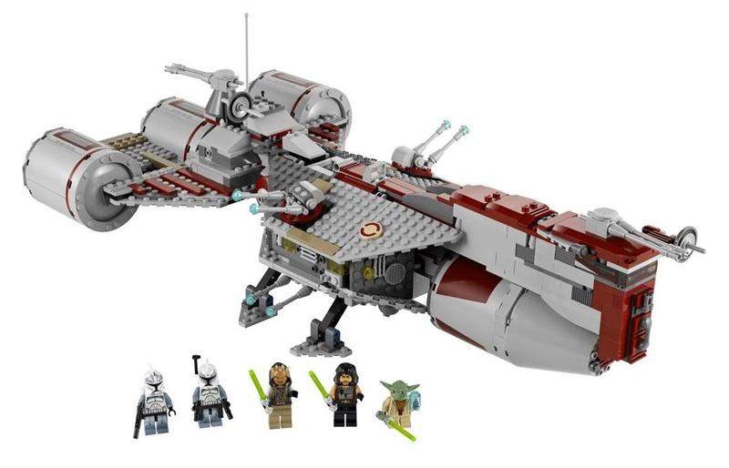 LEGO STAR WARS - 7964 - Frégate de la république Legofr10
