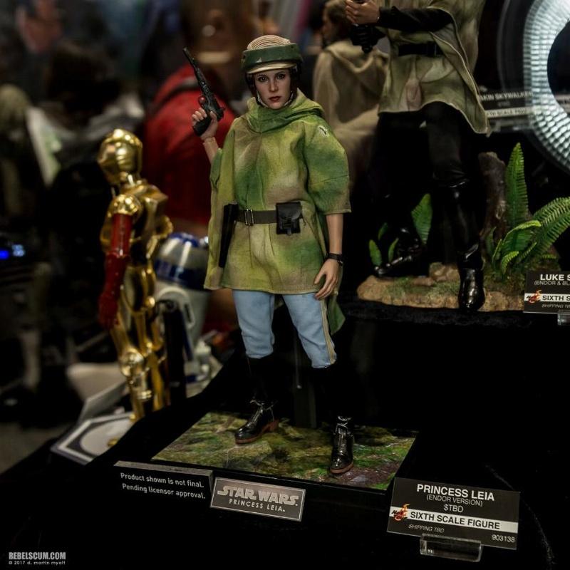 Hot Toys Star Wars - Princess Leia Endor Sixth Scale Figure Leia_e17