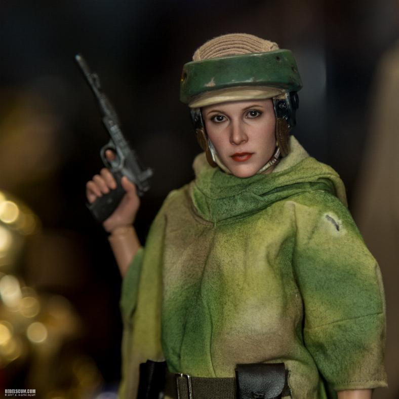 Hot Toys Star Wars - Princess Leia Endor Sixth Scale Figure Leia_e21