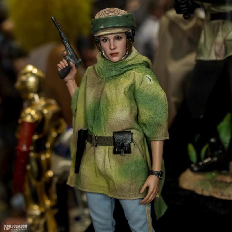 Hot Toys Star Wars - Princess Leia Endor Sixth Scale Figure Leia_e24