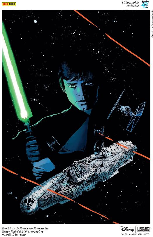 Artwork Star Wars - PANINI - FIBD Angoulême 2016 Litho-11