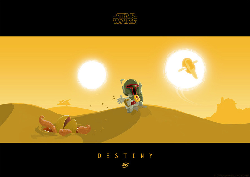 Artwork Star Wars - ACME - Little Boba's Destiny Little10