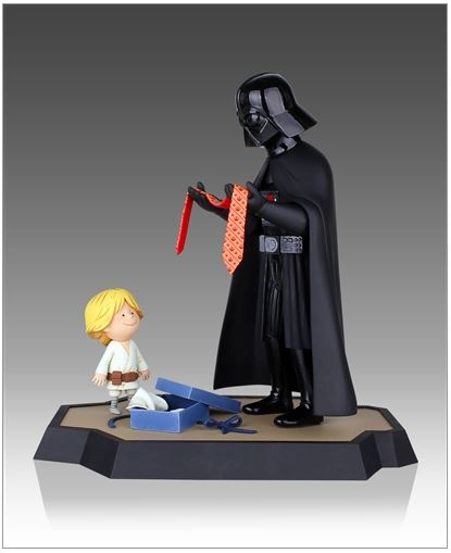 Gentle Giant - Darth Vader and Son Maquette Box Set  Little13