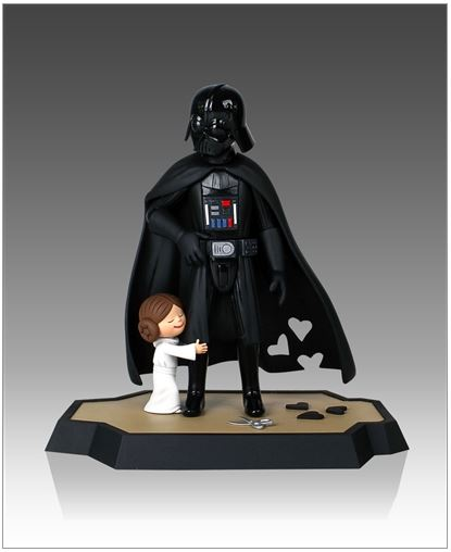 Gentle Giant -Darth Vader's Little Princess Maquette Box Set Little16