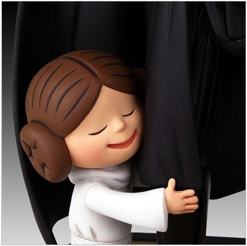 Gentle Giant -Darth Vader's Little Princess Maquette Box Set Little17
