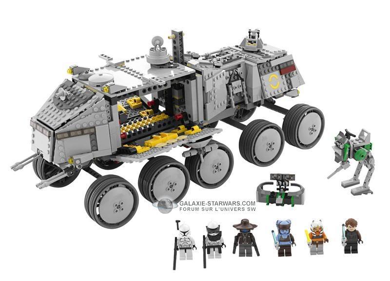 LEGO STAR WARS - 8098 - Clone Turbo Tank Logo8010