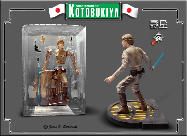 Kotobukiya - Luke Skywalker ARTFX Statue Luke-s13