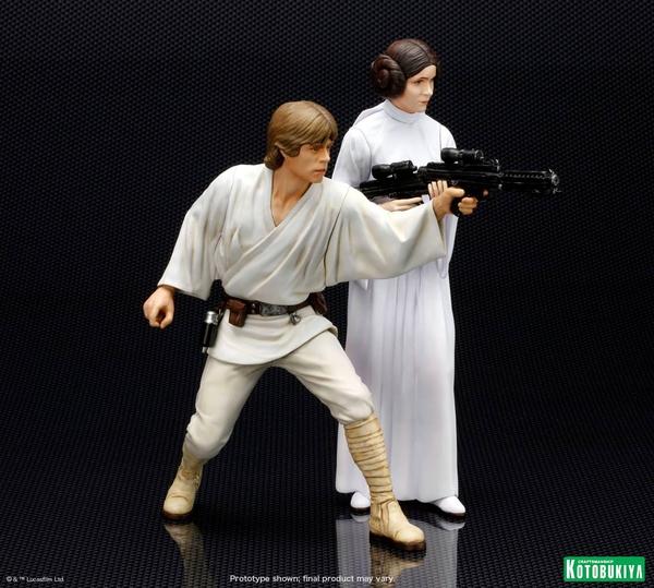Kotobukiya - Luke & Leia A New Hope - ARTFX+ Statues 2 packs Luke_l10