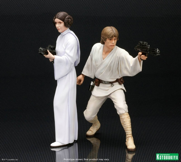 Kotobukiya - Luke & Leia A New Hope - ARTFX+ Statues 2 packs Luke_l11