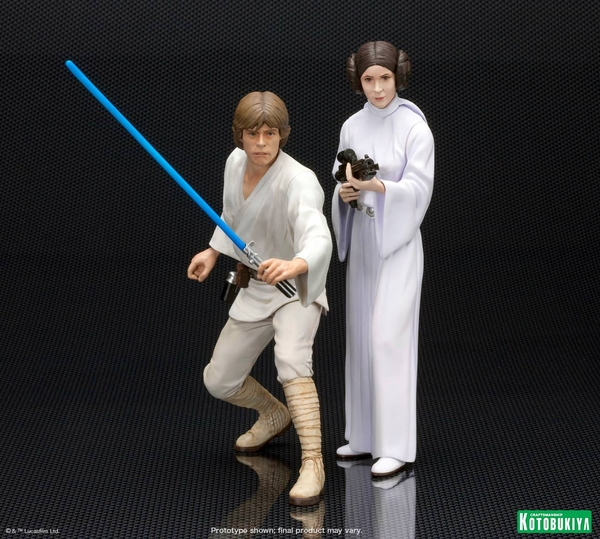 Kotobukiya - Luke & Leia A New Hope - ARTFX+ Statues 2 packs Luke_l12