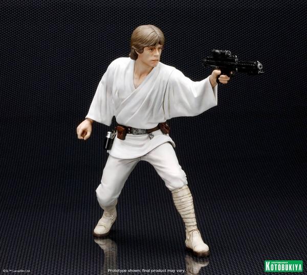 Kotobukiya - Luke & Leia A New Hope - ARTFX+ Statues 2 packs Luke_l13