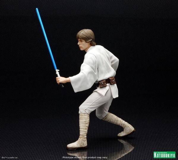 Kotobukiya - Luke & Leia A New Hope - ARTFX+ Statues 2 packs Luke_l14