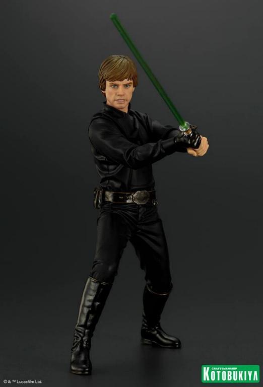 Kotobukiya Star Wars ROTJ Luke Skywalker Jedi Knight ARTFX+ Luke_r10
