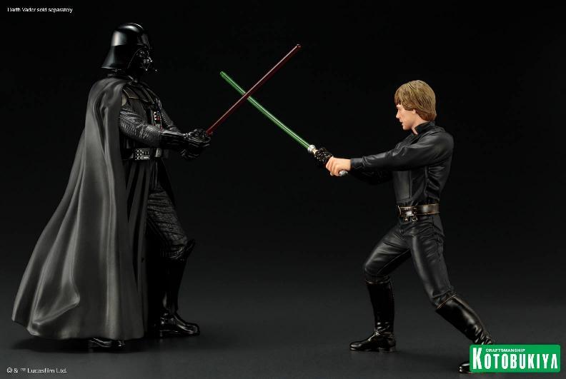 Kotobukiya Star Wars ROTJ Luke Skywalker Jedi Knight ARTFX+ Luke_r11