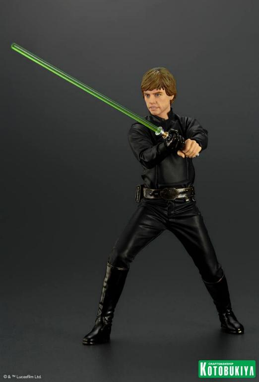 Kotobukiya Star Wars ROTJ Luke Skywalker Jedi Knight ARTFX+ Luke_r12