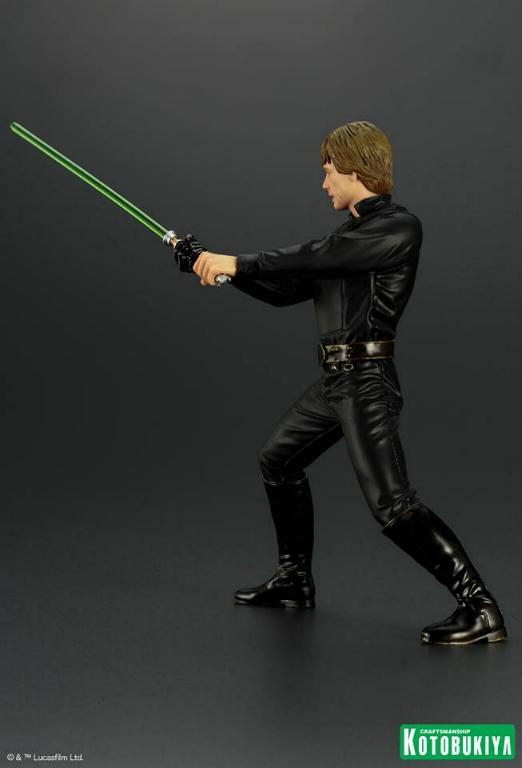 Kotobukiya Star Wars ROTJ Luke Skywalker Jedi Knight ARTFX+ Luke_r13