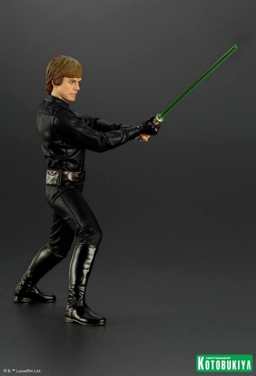 Kotobukiya Star Wars ROTJ Luke Skywalker Jedi Knight ARTFX+ Luke_r14