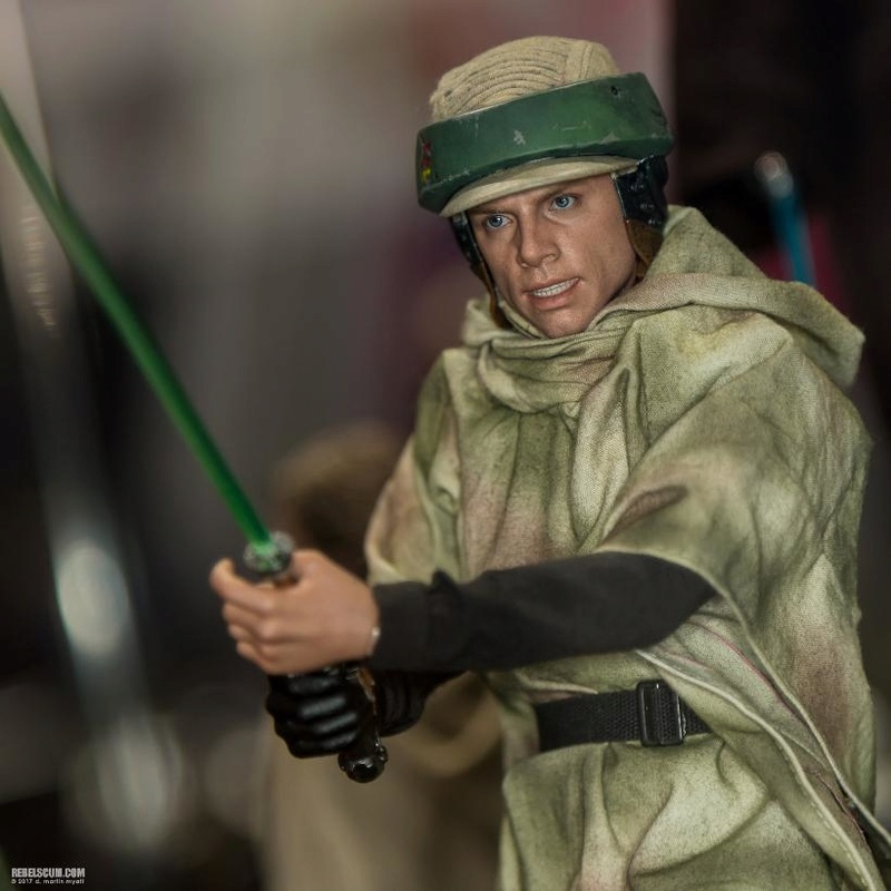 Hot Toys Star Wars Luke Skywalker ROTJ (Endor) 1/6 Lukeen15